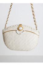 ivory vintage bag