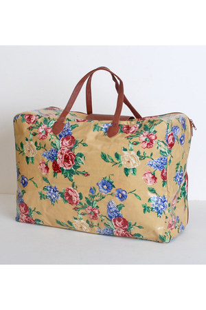 pink vintage bag