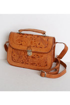 brown vintage bag