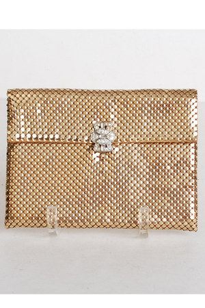 gold Vintage Whiting and David wallet