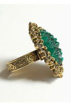 Teal Vintage Rings