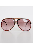 brown Vintage Porsche Carrera sunglasses