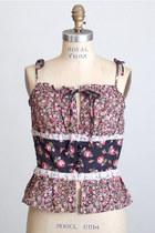 Pink-vintage-top