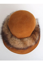 Brown Vintage Hats