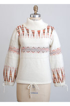 ivory vintage sweater