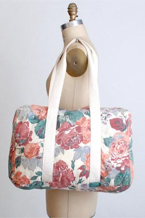 teal vintage bag