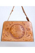 brown vintage bag