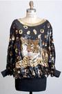 Gold-vintage-blouse