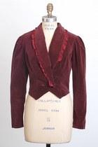 Maroon-vintage-jacket