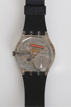 Black Vintage Swatch Watches