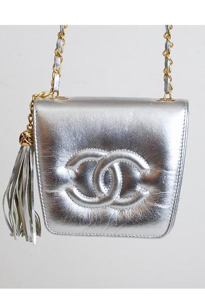 d44d476e32f0 Silver Vintage Chanel Bags  