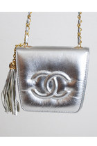 Silver-vintage-chanel-bag