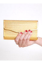 gold vintage bag