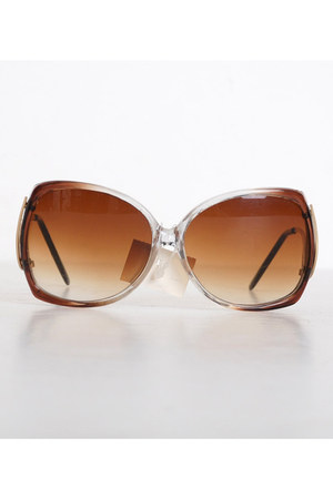 brown vintage sunglasses