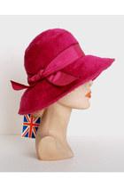Hot-pink-vintage-hat