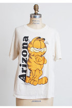 Vintage 70s 80s Garfield Cat Arizona Souvenir T-Shirt