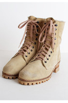 Lace Up Suede Vintage Boots