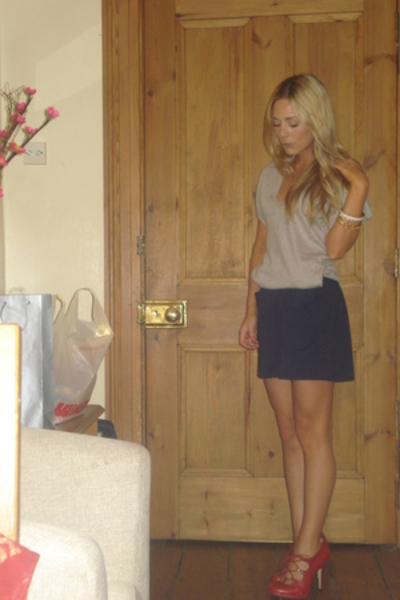 Topshop sweater - aa skirt - Topshop shoes