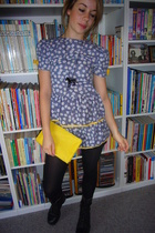 Vinatge dress - Dorothy Perkins purse - vintage shoes