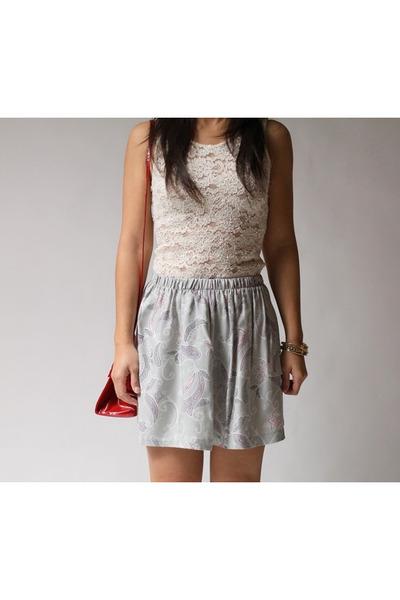 Twisted Moss skirt
