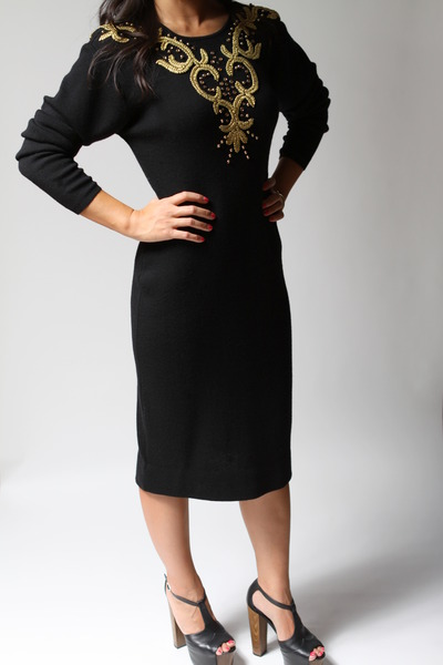 black Michelle Stuart dress