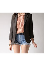 light brown Retro blazer