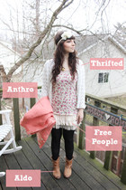 light pink Anthropologie coat