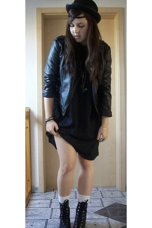dress - hat - jacket - shoes
