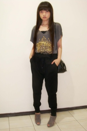 Zara t-shirt - Zara pants - Zara shoes