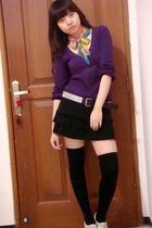 Zara blouse - Zara skirt - Mango scarf