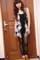 Zara top - Body&Soul vest - Zara leggings