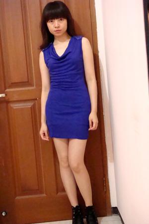 purple Zara dress