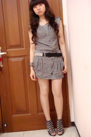 Zara dress - Zara belt - GoJane shoes