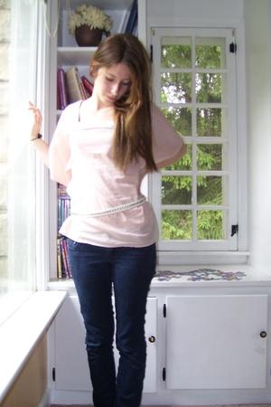 Target shirt - f21 belt - f21 jeans