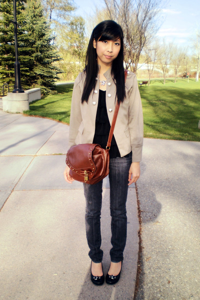 Urban Behaviour blazer - shoes - Urban Behaviour jeans - From Taiwan Purse bag