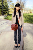 Urban Behaviour blazer - shoes - Urban Behaviour jeans - From Taiwan Purse bag