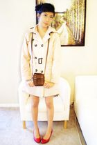 Zara bag - Zara Kids coat - Aldo shoes
