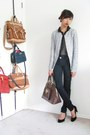 Navy-bluenotes-jeans-blue-zara-blazer-dark-brown-dkny-bag