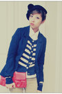 Navy-h-m-blazer-dark-brown-naturalizer-shoes-ruby-red-h-m-bag