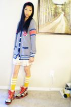 from japan cardigan - winners shoes - from japan skirt - Detox socks