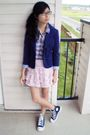 Blazer-converse-shoes-forever-21-skirt-winners-shirt