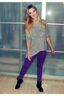 Black-zign-boots-deep-purple-just-femme-jeans-crimson-gina-tricot-hat