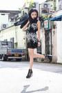 Black-mod-flower-dressabelle-dress-black-jeffrey-campbell-wedges