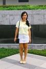 Off-white-skirt