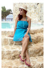 Sky-blue-cover-up-dress