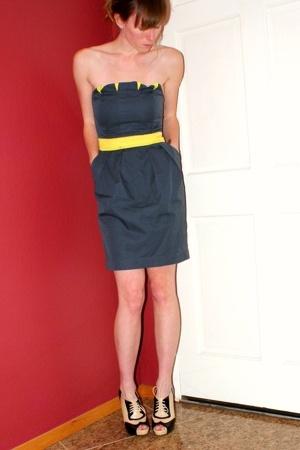 Target dress - f21 shoes