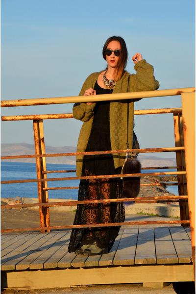 raphaella booz boots - Zara dress