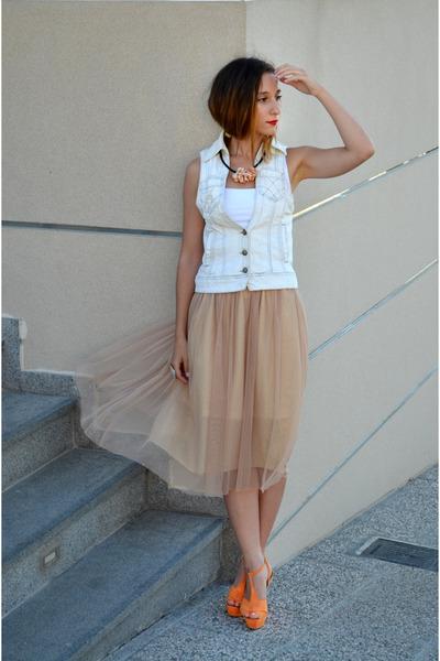 Zara vest - Zara skirt