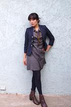 dress - shoes - blazer
