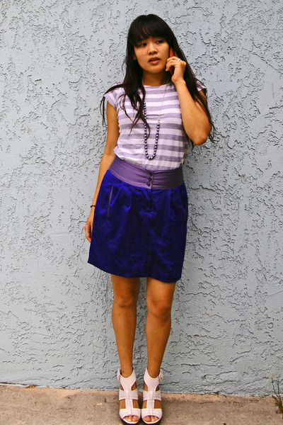 richard chai skirt - forever 21 shirt - Steve Madden shoes
